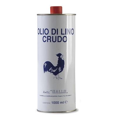 Olii e solventi for Olio di lino crudo