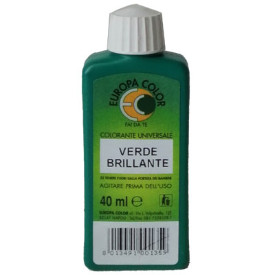 BCOLOR ml 40 VERDE BRILLANTE